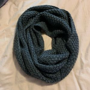 Charcoal/Gray infinity scarf